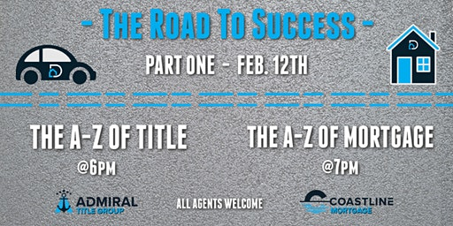 The Road To Success - Part One