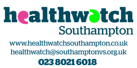 Healthwatch Southampton Annual Meeting 2020 tickets