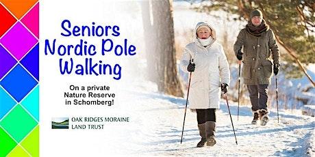 Seniors Nordic Pole Walking - Jan 30 tickets