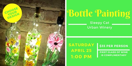 Bottle Painting at Sleepy Cat Urban Winery tickets