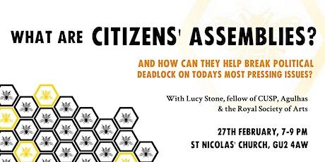 Citizens' Assemblies tickets