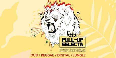 Reggae Party avec le Pull-Up Selecta au Baril Roulant billets