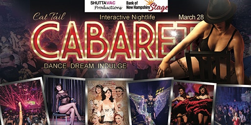 Cat Tail Cabaret, Interactive Nightlife. Dance. Dream. Indulge.