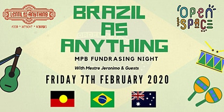 Brazil as Anything – MPB Fundraising Night tickets