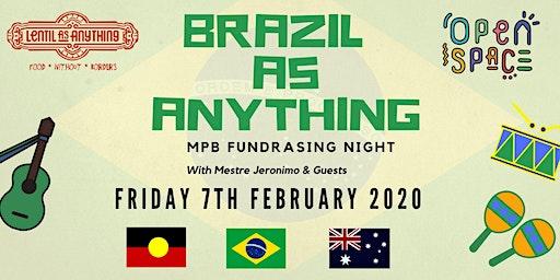 Brazil as Anything – MPB Fundraising Night