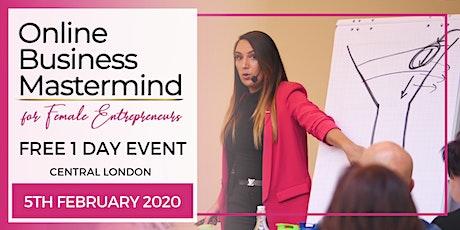 Online Business Mastermind (for Female Entrepreneurs) tickets