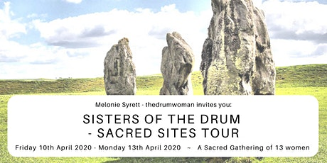 *NOW FULL*Sisters of the Drum - Sacred Sites Tour - Glastonbury and Avebury tickets