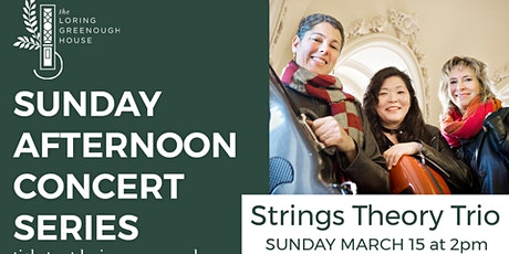 Sunday Afternoon Concert - Strings Theory Trio tickets