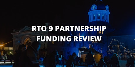 RTO 9 Partnership Funding Information Session - Kingston tickets