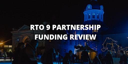 RTO 9 Partnership Funding Information Session - Kingston