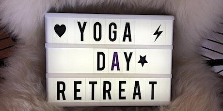 YOGA & HAPPINESS Day Retreat *** Vinyasa Flow, Meditation & Glückswerkstatt tickets