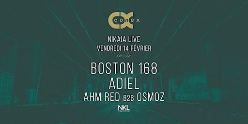 Conex :: Boston 168 · 14 février · Nikaia Live · Nice