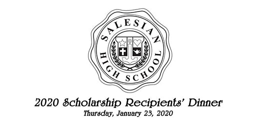 Salesian High School Scholarship Recipients' Dinner 2020