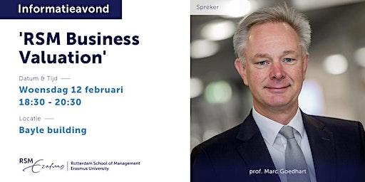 Informatieavond RSM Business Valuation - 12 februari 2020