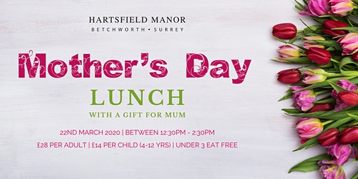 Mother's Day Lunch at Hartsfield Manor