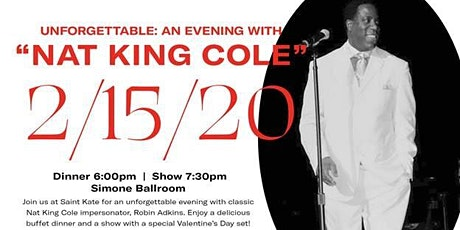 Unforgettable: An Evening with Nat King Cole tickets