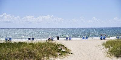 Morning Beach Yoga at Plunge Beach Resort