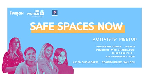 SAFE SPACES NOW   first Activists' Meetup of 2020
