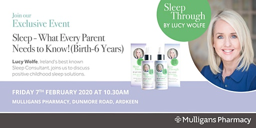 Sleep Consultant Lucy Wolfe Exclusive Event