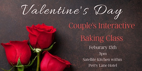 Couple's Interactive Valentine's Day Baking Class tickets