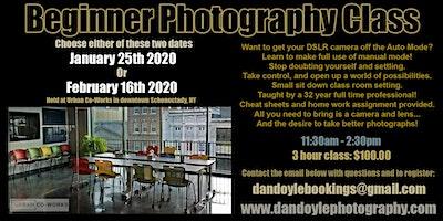 Beginner Photography Class