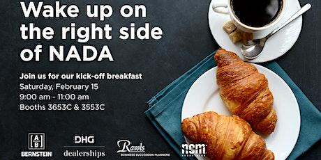 NADA Kick-Off Breakfast tickets