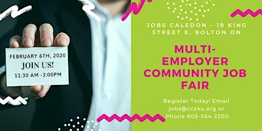 FREE : Multi-Employer Job Fair (Feb 6 , 2020)