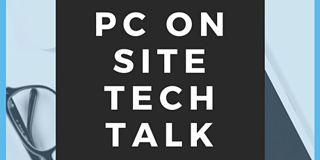 PC Service On-site Tech Talk tickets