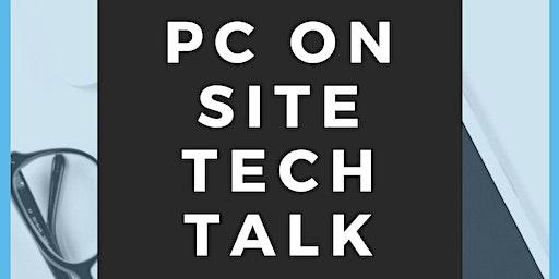PC Service On-site Tech Talk