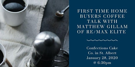 First time home buyer coffee talk! tickets