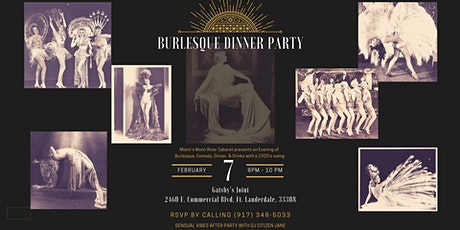 Burlesque Dinner Party at Gatsby's Joint tickets