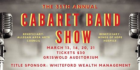 35th Annual Cabaret Band Show - March 13, 2020 tickets