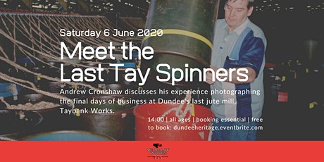 Talk: Meet the Last Tay Spinners tickets