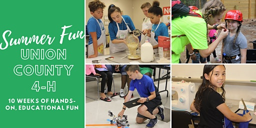 Union County 4-H Summer Fun Day Camp: Krafty Kids: Arts and Crafts Camp