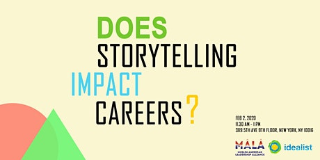 Does Storytelling Impact Careers? tickets