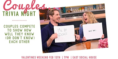 Couples Trivia Valentines Weekend tickets