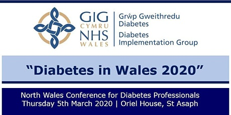 North Wales Diabetes Professional Conference tickets