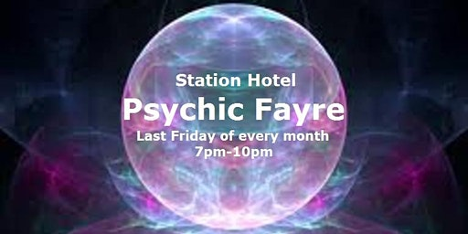 Psychic Fayre at the Station Hotel Dudley on 28 February