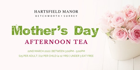 Mother's Day Afternoon Tea at Hartsfield Manor tickets