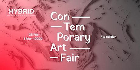 Invitación a HYBRID Art Fair 2020 entradas