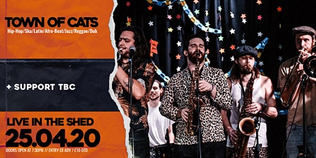 Town of Cats // The Shed // 25.04.2020 tickets