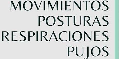 Movimientos, posturas, respiraciones y pujos entradas