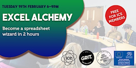 GRIT After Hours: Excel Alchemy tickets