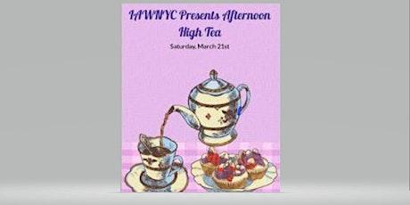 IAWNYC Presents 'Afternoon High Tea' tickets