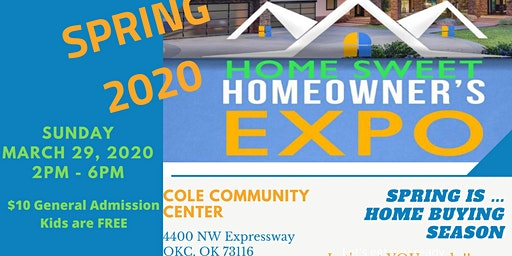 SPRING 2020 Home SWEET Home Owners EXPO
