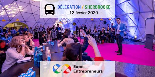 Délégation de Sherbrooke pour Expo Entrepreneurs 2020