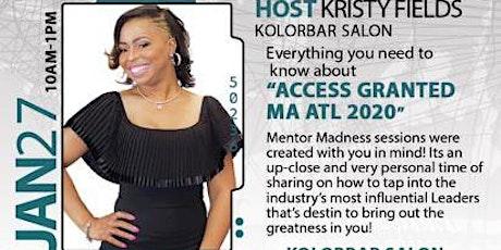"Mentorship Academy 2020 ""Mentor Madness"" Atlanta tickets"