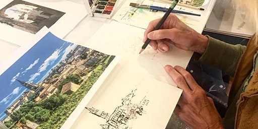 Travel Journal Sketch Studies