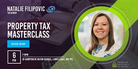 PROPERTY TAX MASTERCLASS tickets