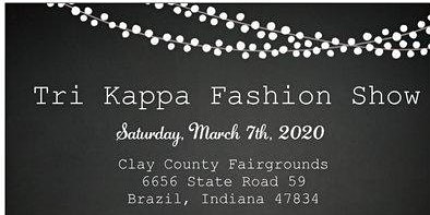Tri Kappa Fashion Show